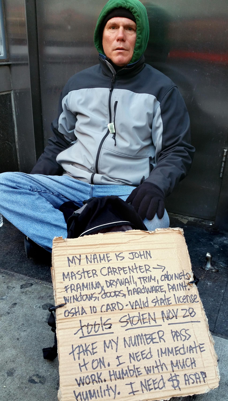 Essay on homeless people