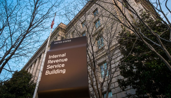FILE - This April 13, 2014, file photo, shows The Internal Revenue Service (IRS) headquarters building Washington. Although many small business owners hire accountants and attorneys to complete their income tax returns, taxes are a hassle. (AP Photo/J. David Ake, File)