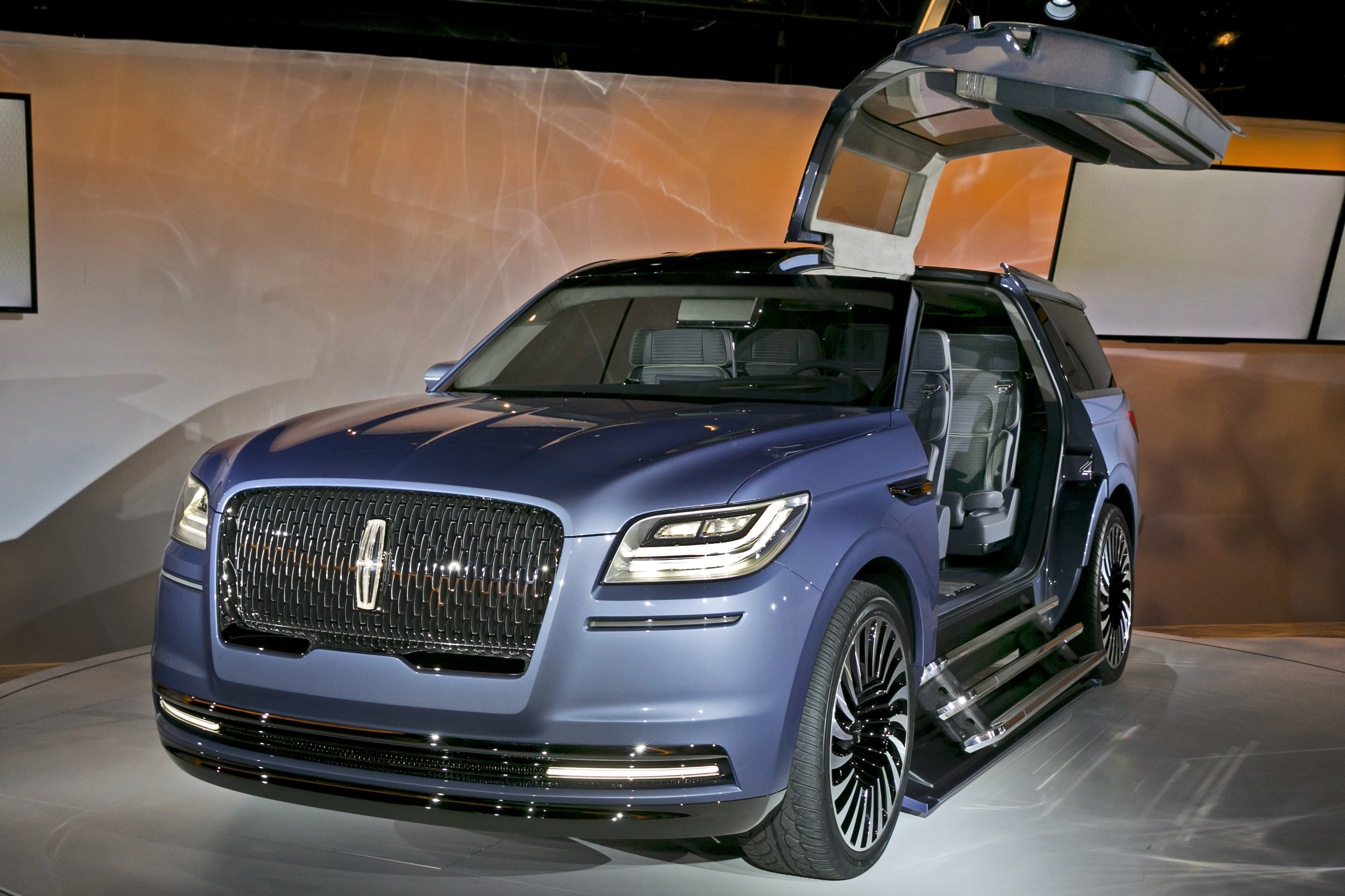 In This Monday March 21 2016 Photo The New Lincoln Navigator Concept