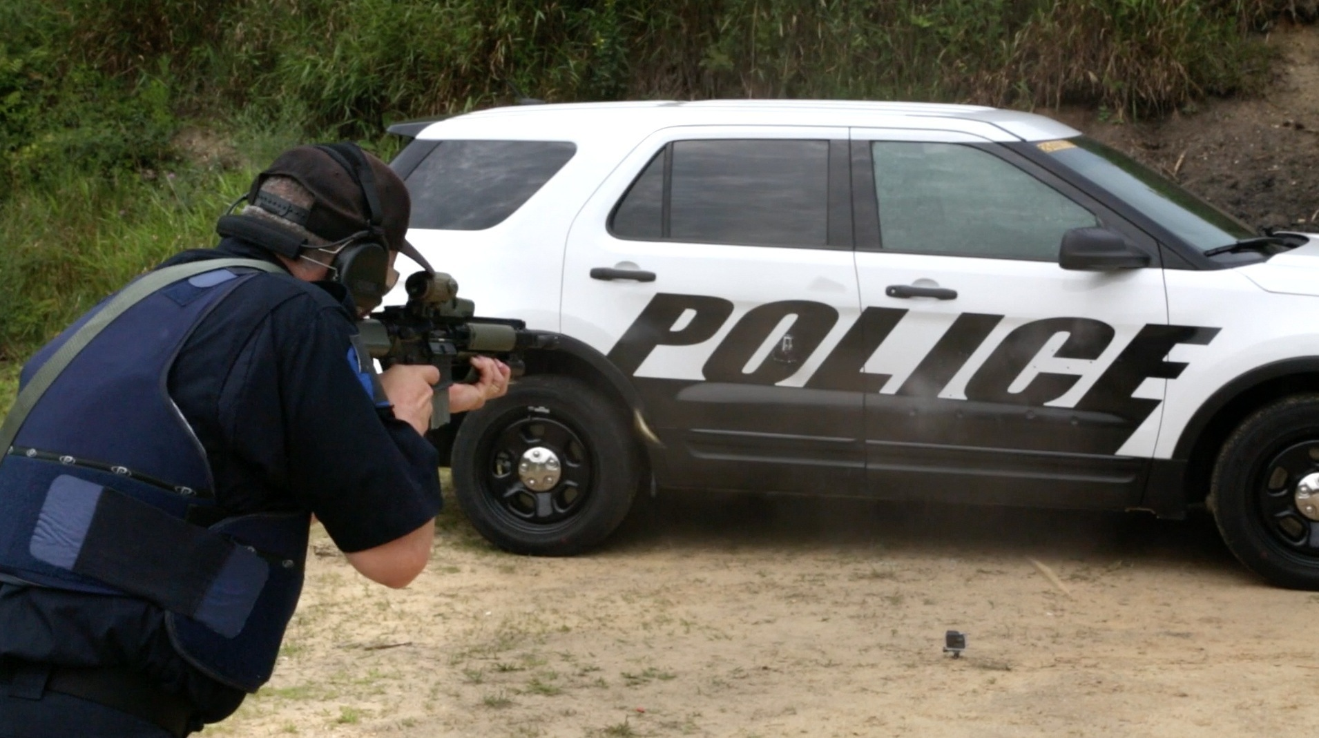Detroit Ford Makes Police Car Doors That Stop Armor