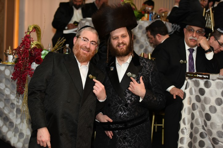 Kidney Donors Shlomo Gombo, Singer Shimmy Engel