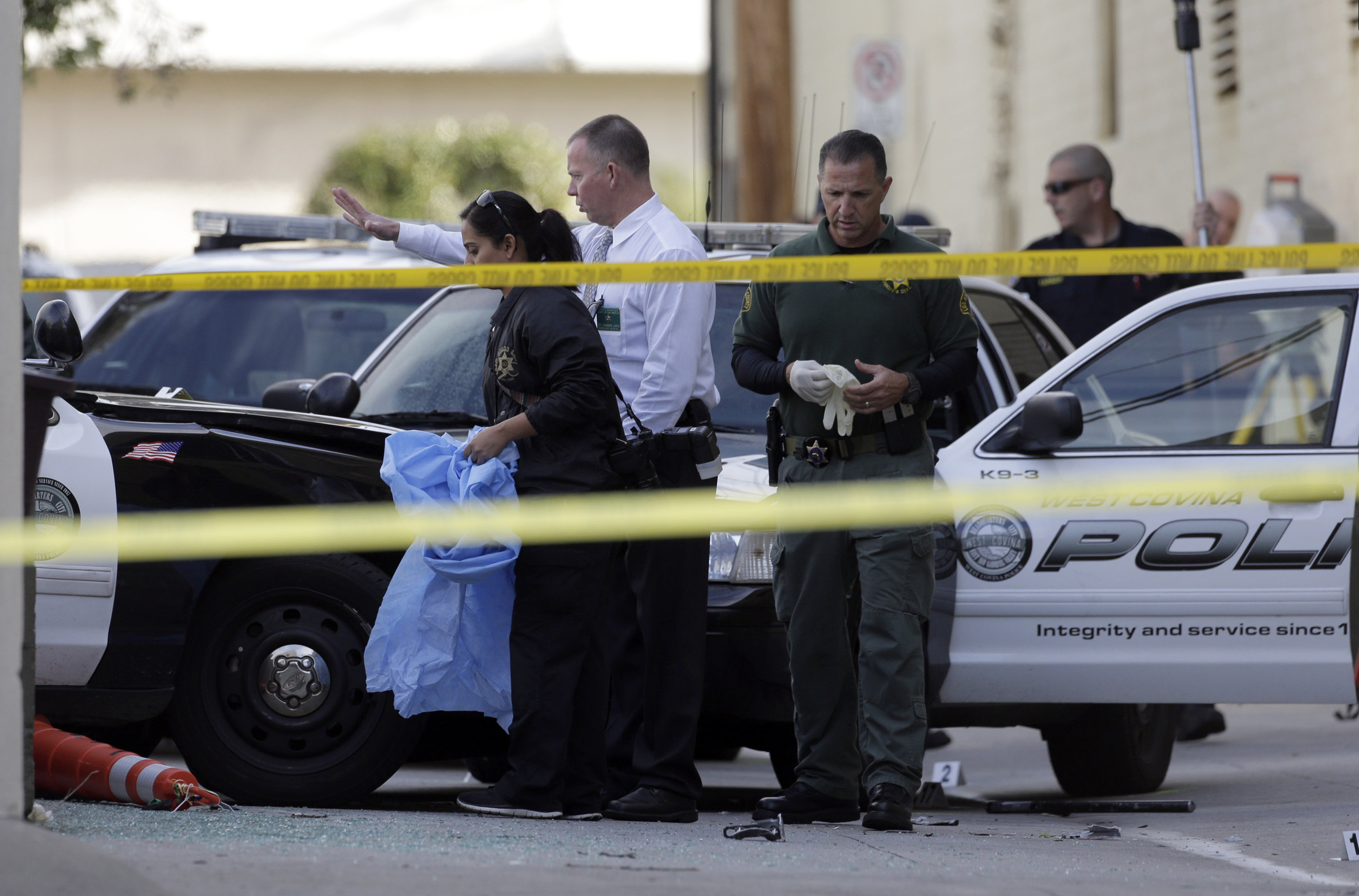 Los Angeles Suspect Shot Killed After Stealing Police