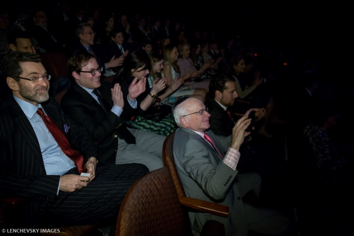 Bennett Wernick, (seated at front row from below, holding camera) father of award winning television writer and executive producer Ilana Wernick