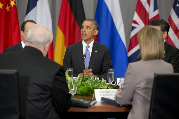 President Barack Obama speaks at a meeting of  the Nuclear Security Summit in Washington, Friday, April 1, 2016. (AP Photo/Jacquelyn Martin)