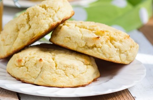 Biscuits made of coconut flour by Pereg