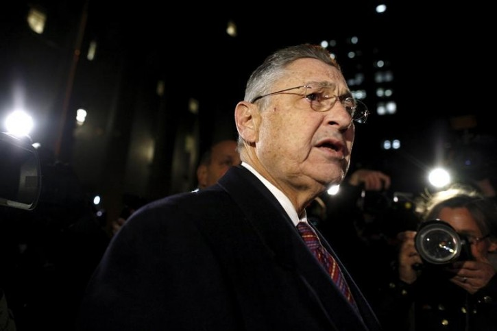 FILE - Former New York State Assembly Speaker Sheldon Silver leaves a courthouse in New York November 30, 2015.Reuters