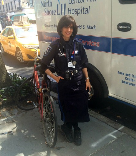 Mrs. Freier is the founder and CEO of the  all women's Ezras Nashim ambulance company