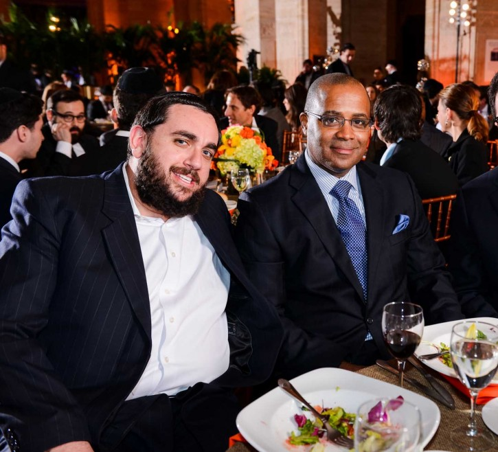 FILE - Jeremy Reichberg and NYPD Former Chief of Department Philip Banks (Photo: Boruch Ezagui/VINnews.com)