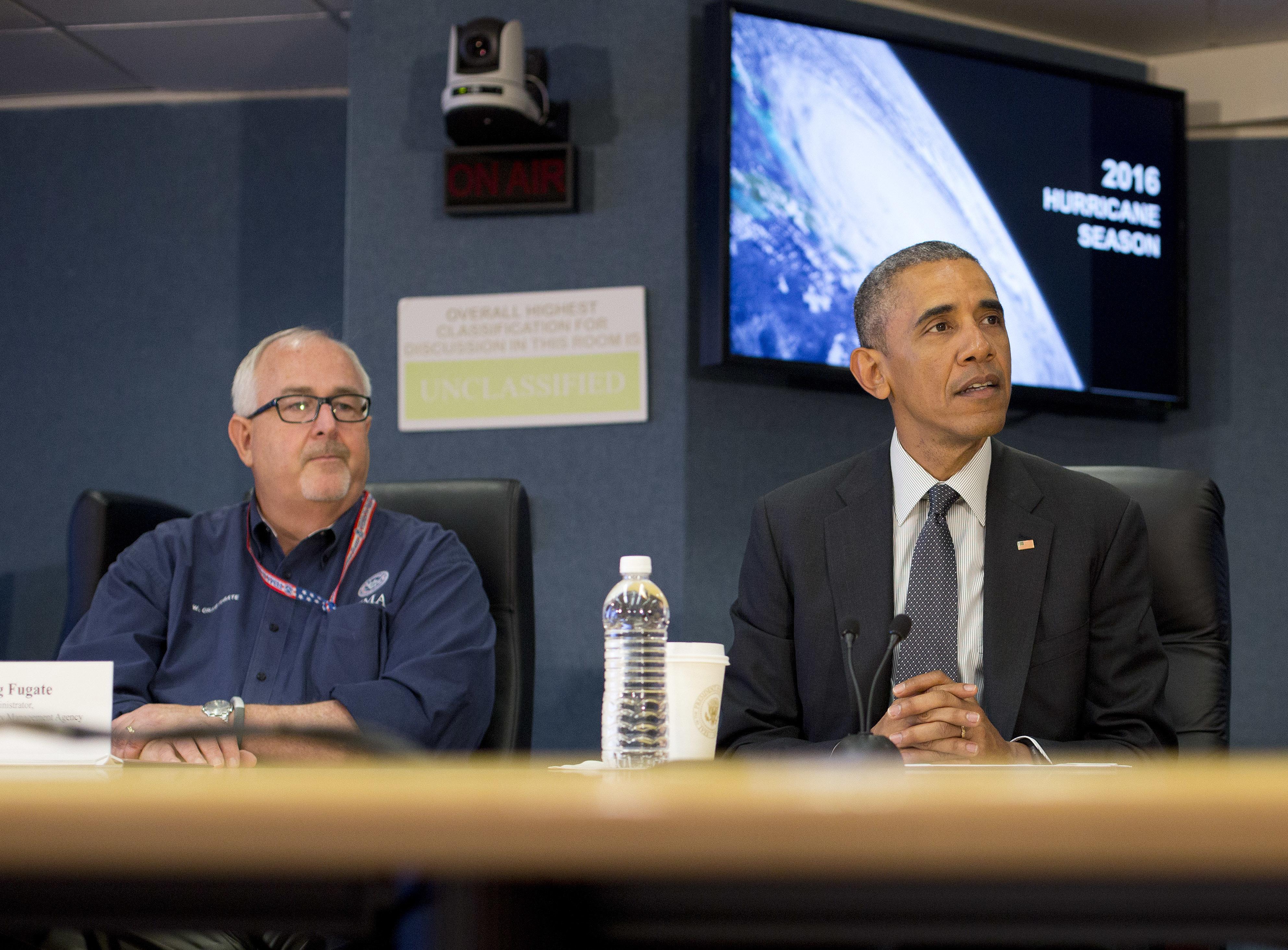 Washington - Obama Urges Public To Get Ready For Hurricane Season