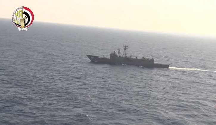 A screen grab taken from a handout video btained from the Egyptian Defence Ministry shows search operations for missing EgyptAir flight MS804 at sea off the Egyptian coast, north of Alexandria, Egypt, 20 May 2016. EPA
