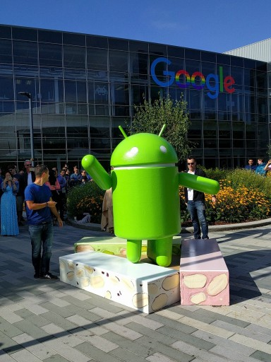 "This photo provided by Google shows the Android Nougat statue, officially unveiled Thursday, June 30, 2016, at Google campus in Mountain View, Calif. The next version of Android software dubbed ""Nougat"" is scheduled to be released in new smartphones in the fall of 2016 when the makers of existing Android devices will also be able to enable updates to the new software. Nougat's new features will include the ability to run apps without actually installing them on a device. (Google via AP)"