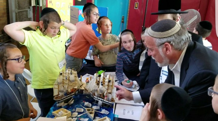 Brooklyn, NY - Commitment To Higher Quality Secular Curriculum In Chasidic Schools On Display At Yeshiva Education Fair - Vos Iz Neias