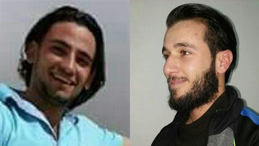 Khaled Mahmara (Right) and Mohammad Mahmara (Left) who carried out the Tel Aviv attack