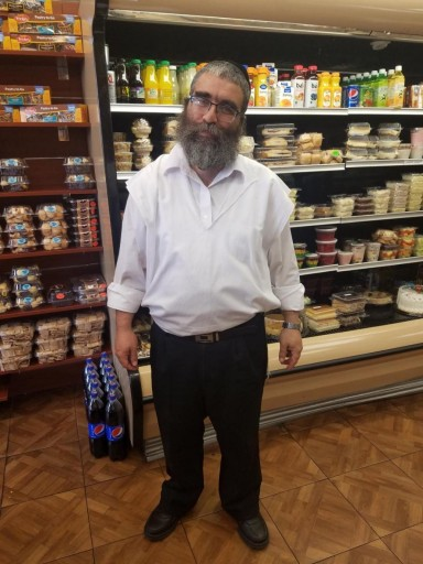 Pesach Hirsch, owner of the bakery ( Courtesy)