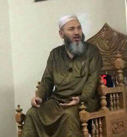 In this undated photo provided by Shahin Chowdhury, Imam Maulama Akonjee is shown. Akonjee and another man died Saturday, Aug. 13, 2016 after being shot after they left the Al-Furqan Jame Masjid mosque in the Queens borough of New York after prayers on Saturday. Police say that motive has yet to be determined. (Shahin Chowdhury via AP)