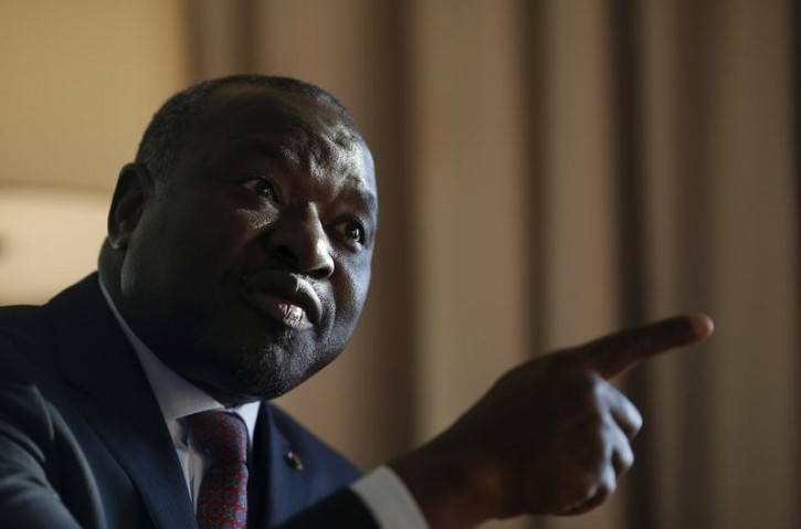 FILE - Lassina Zerbo, head of the Comprehensive Nuclear-Test-Ban Treaty Organisation (CTBTO), speaks during an interview with Reuters at a hotel in Seoul, South Korea, December 7, 2015.  Reuters