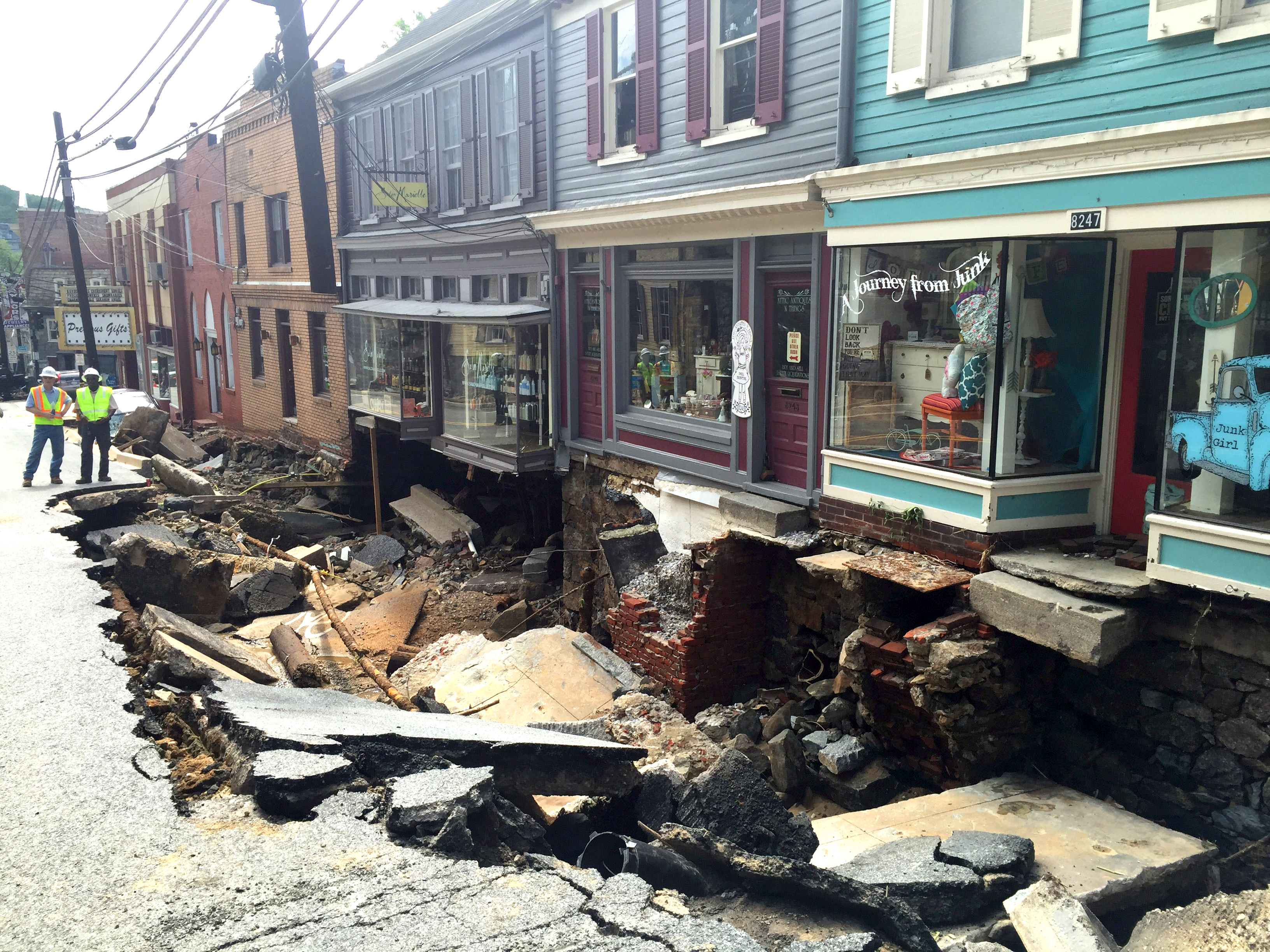 Ellicott City, MD - Historic Maryland Town Faces Long Recovery ...