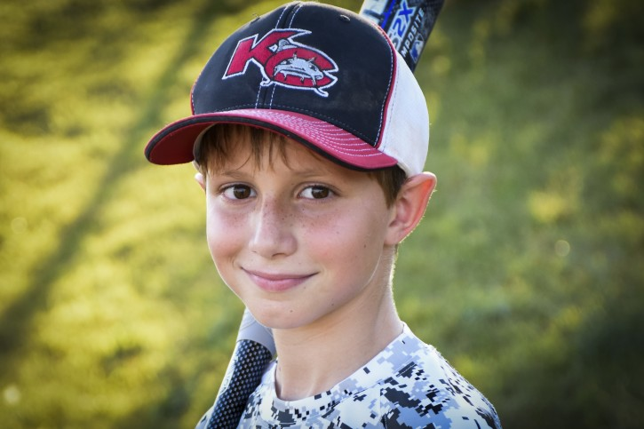 This June 2016 photo provided by David Strickland shows Caleb Thomas Schwab, the son of Scott Schwab, a Kansas state lawmaker from Olathe. Caleb died Sunday, Aug. 7, 2016, while riding the Verruckt, a waterslide that's billed as the world's largest, at the Schlitterbahn Waterpark in Kansas City, Kan. (David Strickland via AP)