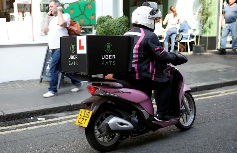 Amsterdam - Uber Launches Global Assault On Food Delivery