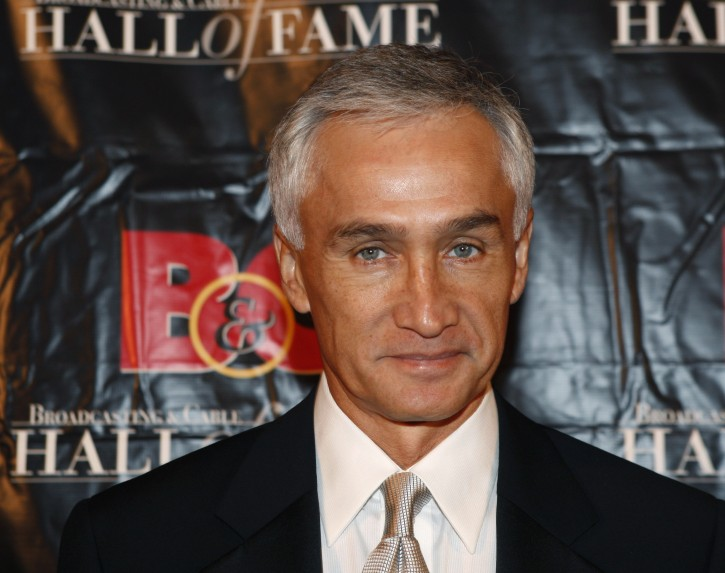 """FILE - In this Oct. 20, 2009 file photo, Univision news anchor Jorge Ramos poses for a photograph in New York. Ramos says he'd like to moderate one of the presidential debates, and doesn't believe his recent call for people to """"take a stand"""" against Republican Donald Trump should eliminate him from consideration. (AP Photo/Kathy Willens, File)"""