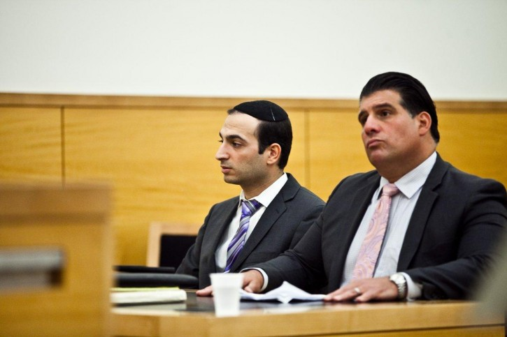 FILE - Former NYPD cop Jacob Sabbagh (L.) with his lawyer in court with his attorney John Arlia on June 23, 2016 (Photo Courtesy BYRON SMITH/VINnews.com)