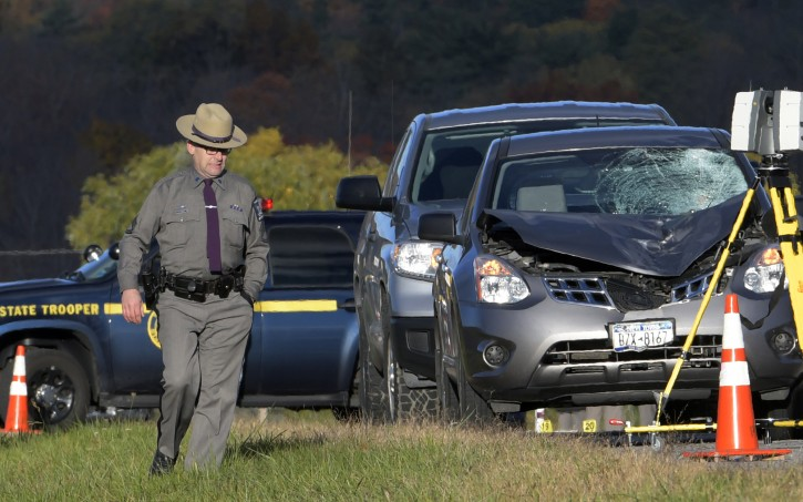 New York State Trooper Car Accident
