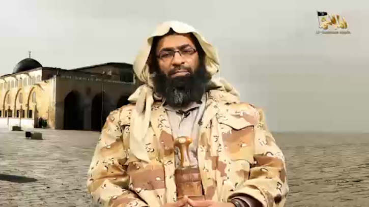 Khalid Batarfi threatened the US and Jews in a video released by AQAP yesterday.