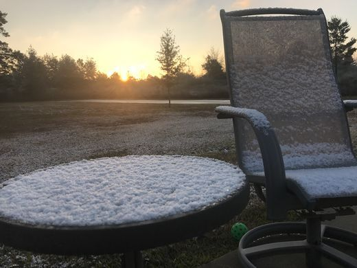 FILE - Snowfall in Milton, Fla., in Santa Rosa County on Saturday, Dec. 9, 2017  Lisa Nellessen Savage/Pensacola News Journal