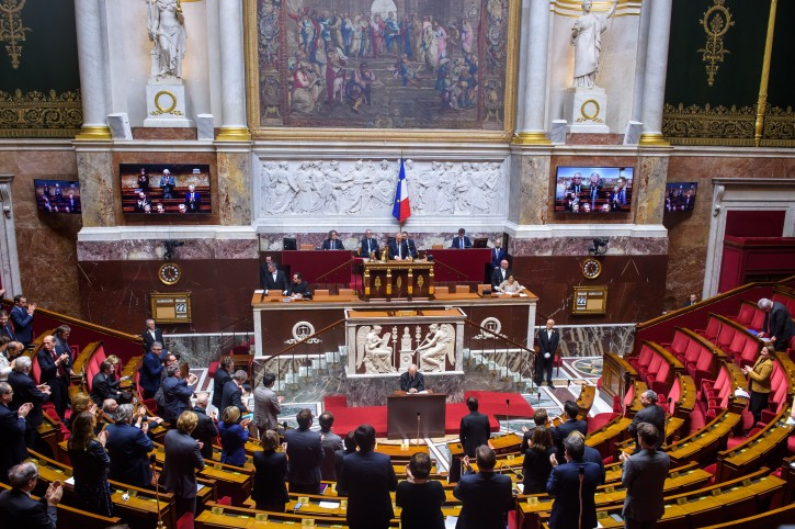 Paris – French Lawmakers Banned From Wearing Religious Symbols In Parliament
