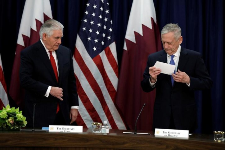 Washington – Mattis Calls Tillerson Firing A 'Washington D.C. Story'