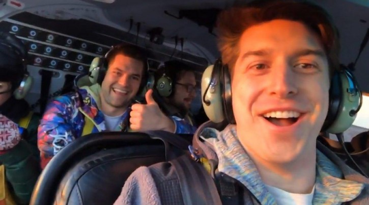 Trevor Cadigan, 26, posted a story to Instagram of take-off before the doomed helicopter crashed in the East River