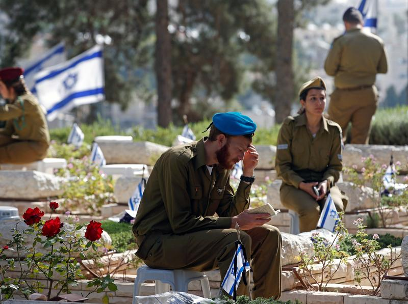 Jerusalem - In Photos: Israel Pays Tribute To Fallen On ...