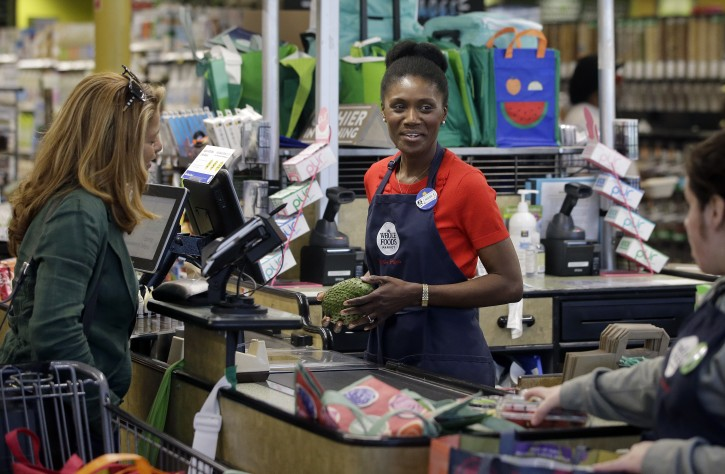 Whole Foods Pay Cashier New York