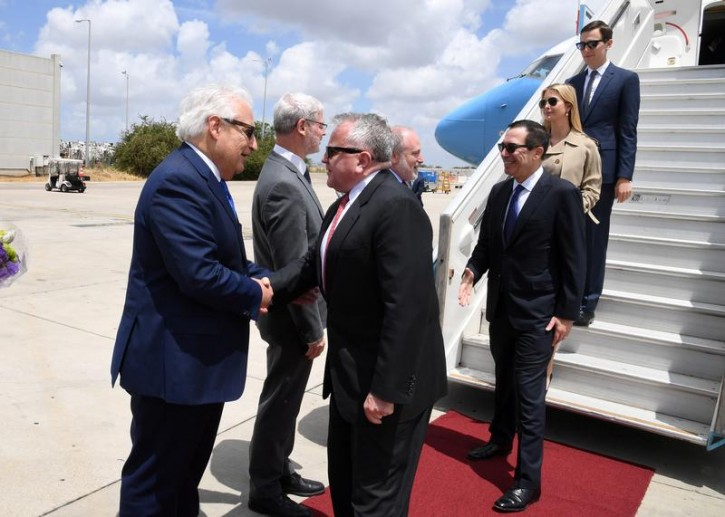 Jerusalem - Watch: U.S. Delegation Arrives In Israel For Embassy Opening