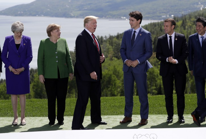 Image result for photos of g7 summit quebec