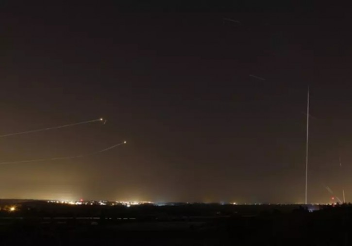 Jerusalem – Thirty Rockets Launched From Gaza Strip, 7 Intercepted By Iron Dome