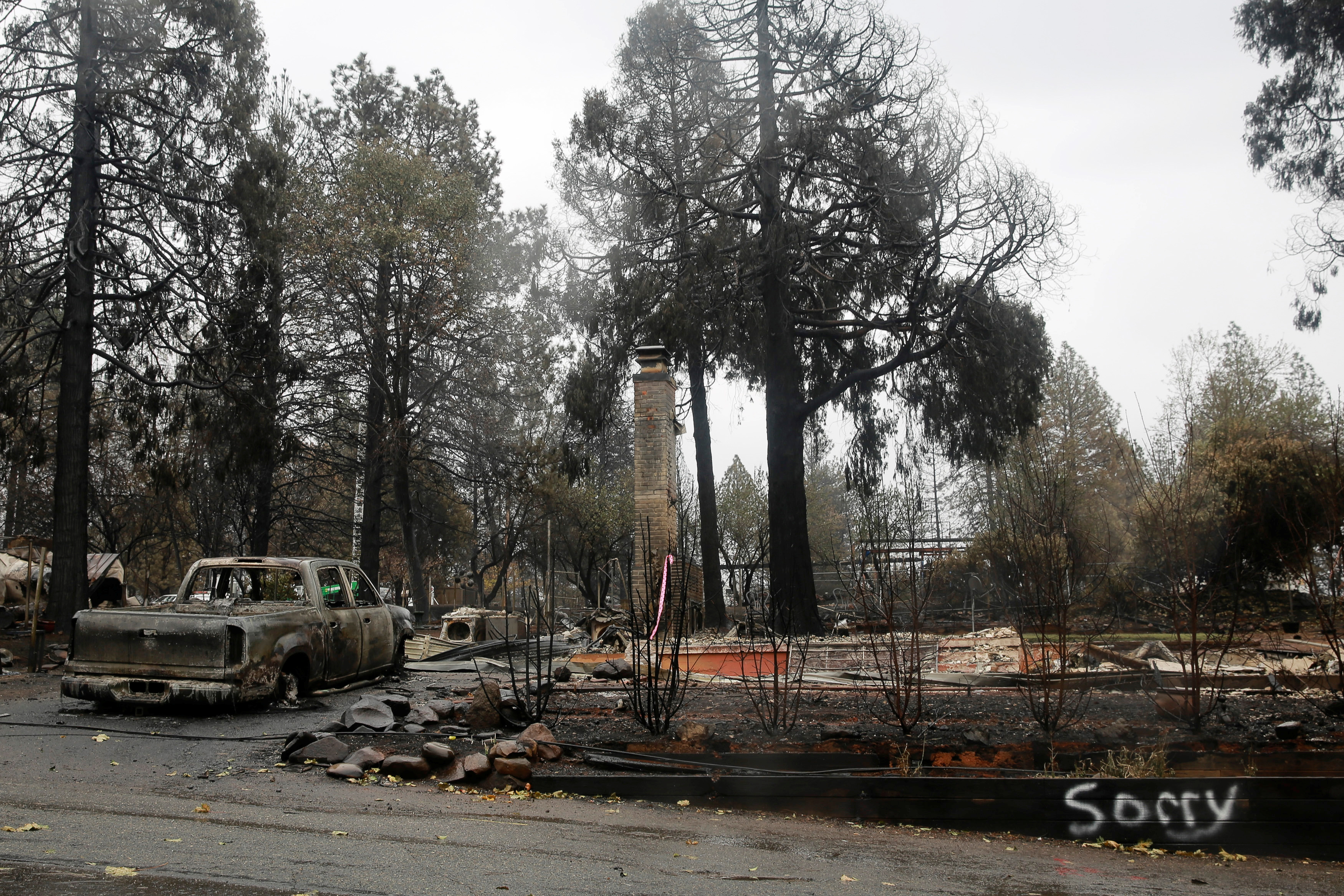 Paradise, CA - Officials: California Wildfire That Killed At