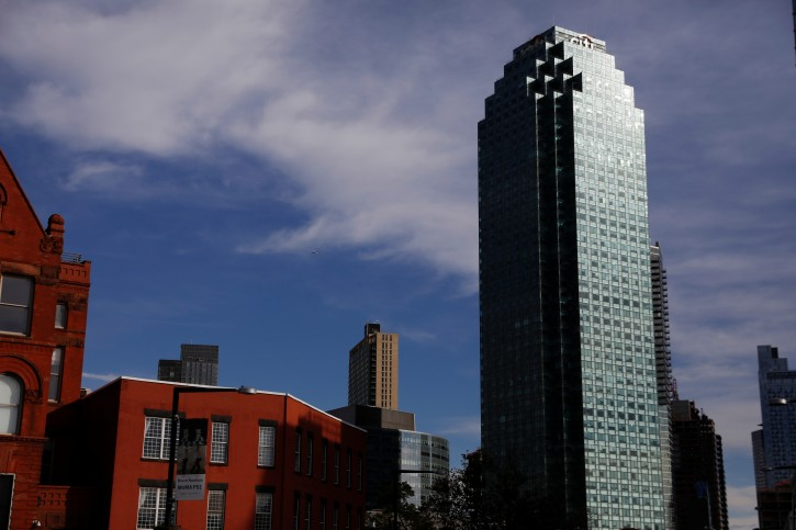 The Citibank building, the site of a new workplace for Amazon employees, is seen in Long Island City of the Queens borough of New York, U.S., November 14, 2018. REUTERS/Shannon Stapleton