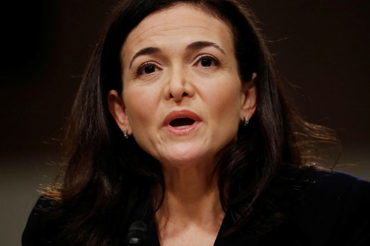 - Facebook COO Sheryl Sandberg testifies before a Senate Intelligence Committee hearing on foreign influence operations on social media platforms on Capitol Hill in Washington, U.S., September 5, 2018. REUTERS/Joshua Roberts