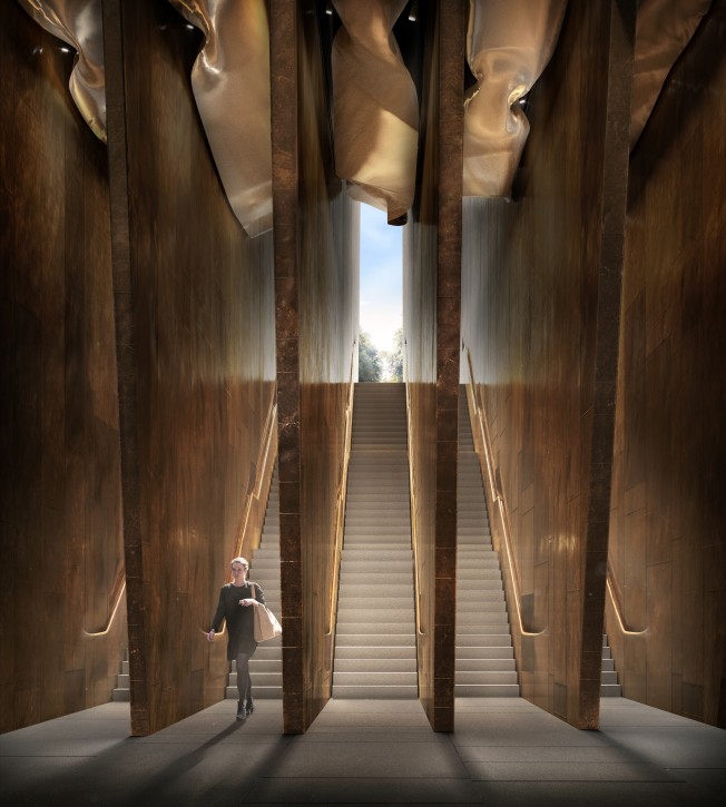 A handout photo made available by the UK Holocaust Memorial Foundation on 06 December 2018 shows the new designs for the Holocaust Memorial in London, Britain. EPA