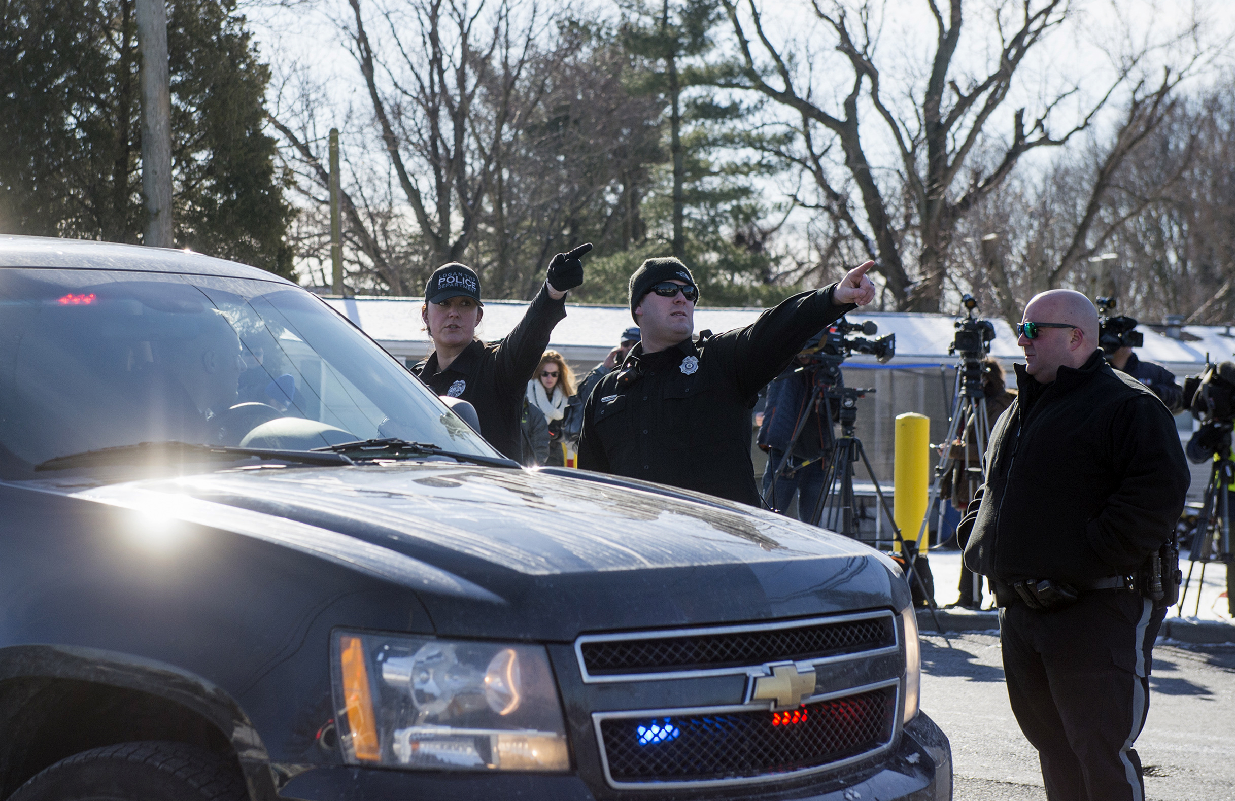 Logan Township, NJ - 2 Female Victims Unharmed After UPS Hostage