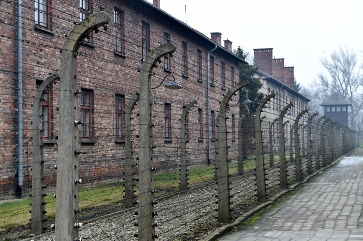 A view on the former Nazi-German concentration and death camp KL Auschwitz-Birkenau in Oswiecim, Poland, 27 January 2018. EPA