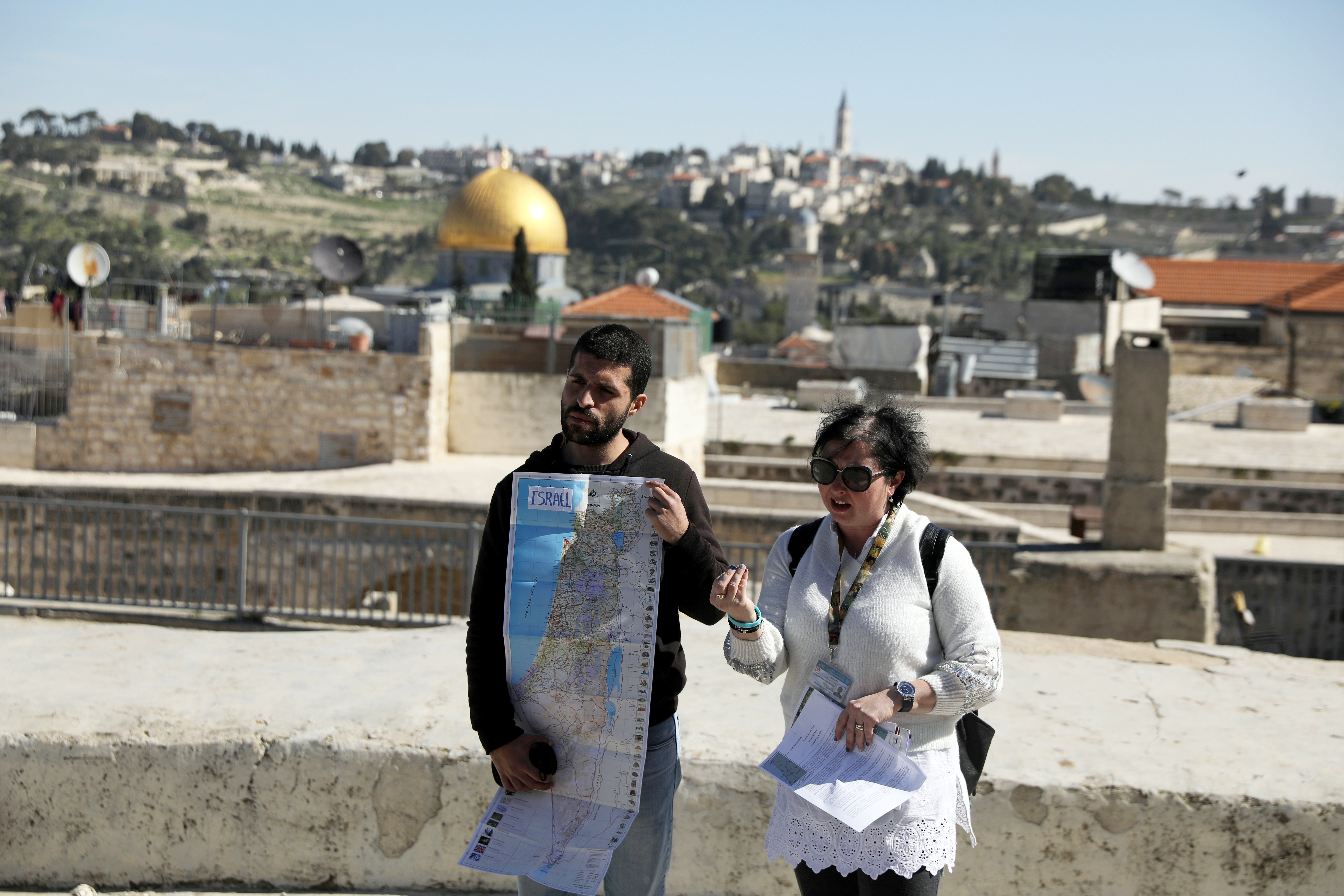 Israel Two Tales Of A City Jerusalem Tour Guided By A Palestinian