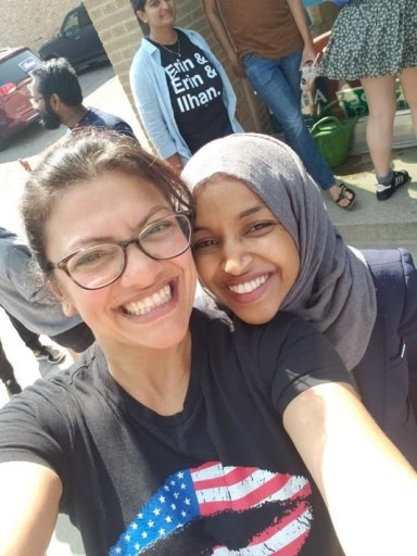 Rashida Tlaib, left, of Detroit and Ilhan Omar of Minnesota could be the first female Muslims to serve in Congress. (Photo: Tlaib's Facebook page, Tlaib's Facebook page)