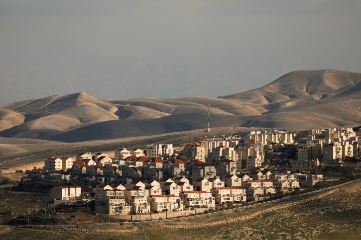 FILE PHOTO: A general view picture shows houses in the Israeli settlement of Maale Adumim, in the occupied West Bank February 15, 2017. REUTERS/Ammar Awad/File Photo