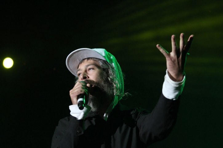 FILE - Matthew Paul Miller, known as Matisyahu, performs on stage at the Live Festival in Oswiecim, Poland, 18 June 2011.  EPA