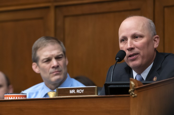 FILE - Republican Representative from Texas Chip Roy (R) at the US Capitol in Washington, DC, USA, 15 May 2019. EPA