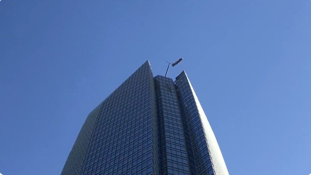Oklahoma City - 2 Rescued From Scaffold Near Top Of 50-story