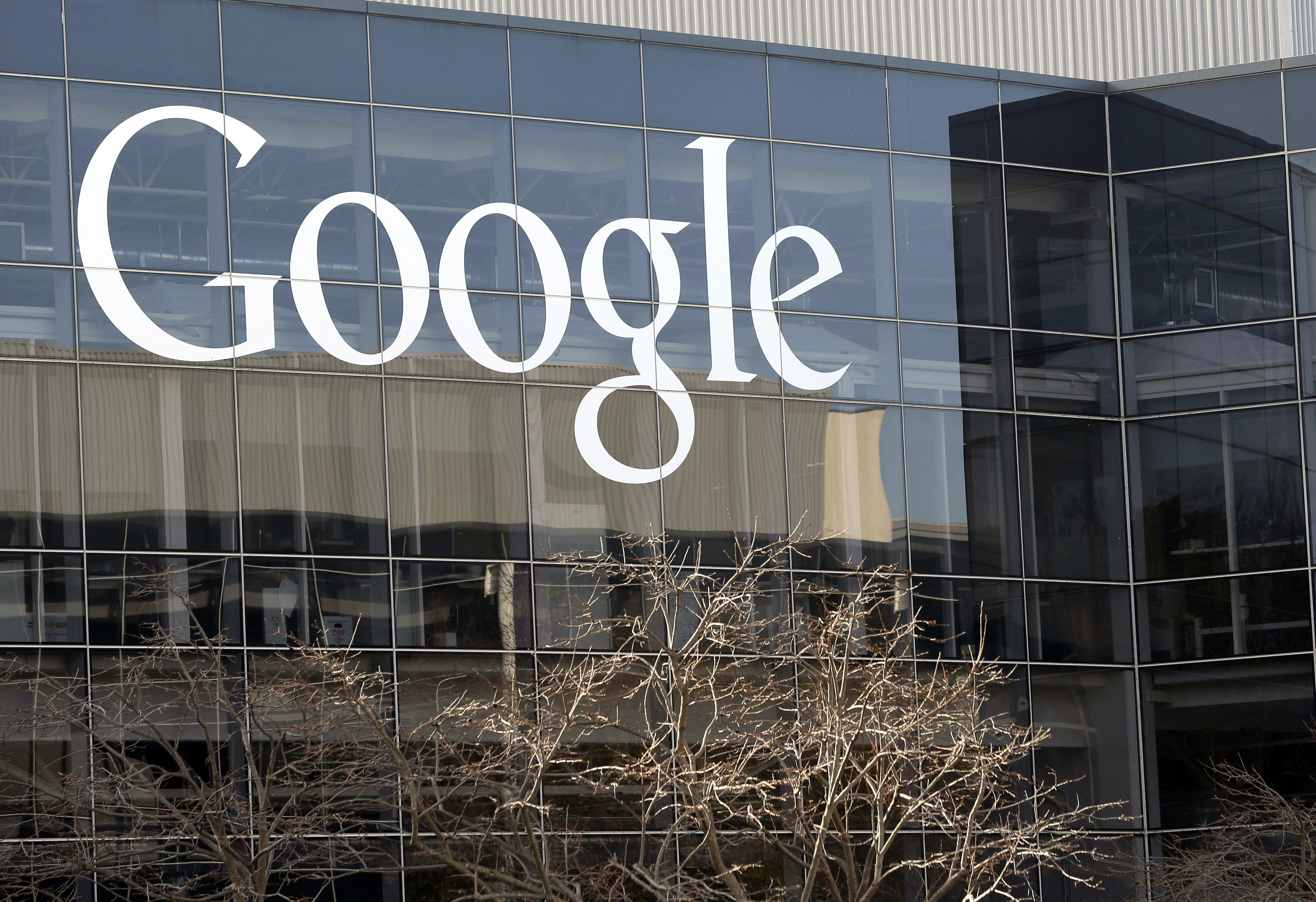 FILE - This Thursday, Jan. 3, 2013, file photo shows Google's headquarters in Mountain View, Calif. AP