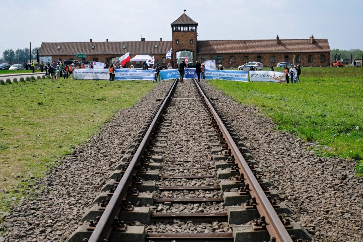 FILE -  Former German-Nazi extermination camp Auschwitz in Oswiecim, Poland, 02 May 2019.